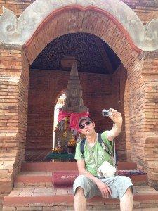 Le roi du selfie