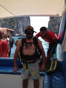 Plongée à Phi Phi